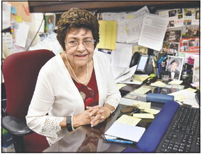 From 2-week job to 47-year career