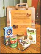 Look for Food Drive bag in today's paper