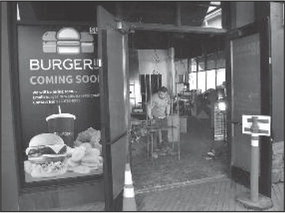 BurgerIM is finally ready to open at shopping center