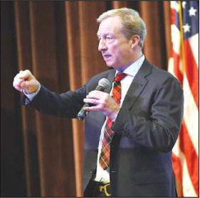 Democrats of Rossmoor host presidential hopeful Tom Steyer