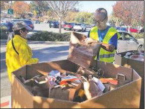 Annual holiday food drive gets off to very good start