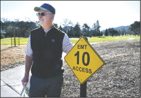 New signs help emergency response on the golf courses