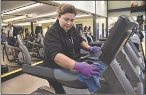 Custodians take steps to prevent spread of flu, coronavirus