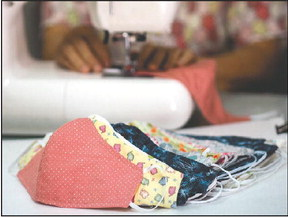 Rossmoor Stitchers step up to make hundreds of needed face masks
