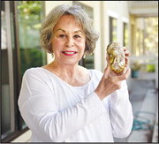 Painted (rock) ladies: Residents spread joy with their art