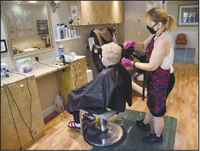 Reopening Rossmoor: Hairstyling in, dining rooms still off limits at the Waterford