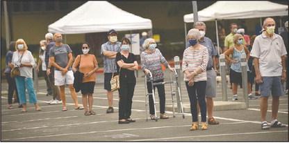 Orange skies, ash blanket Rossmoor, disrupting flu clinics and closing pools