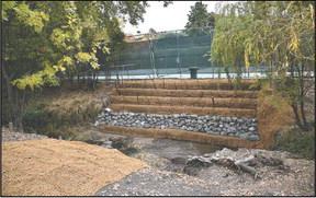 Creek-restoration work wraps up