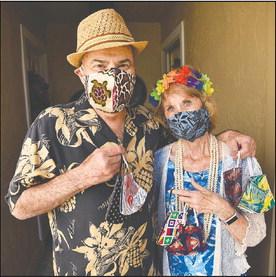 From Hawaiian shirts to colorful masks
