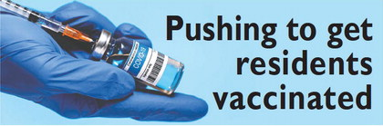 Pushing to get  residents  vaccinated