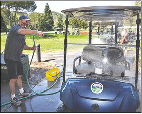 Golf staff rises to challenges of pandemic